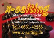 x-saiting Gitarrenunterricht