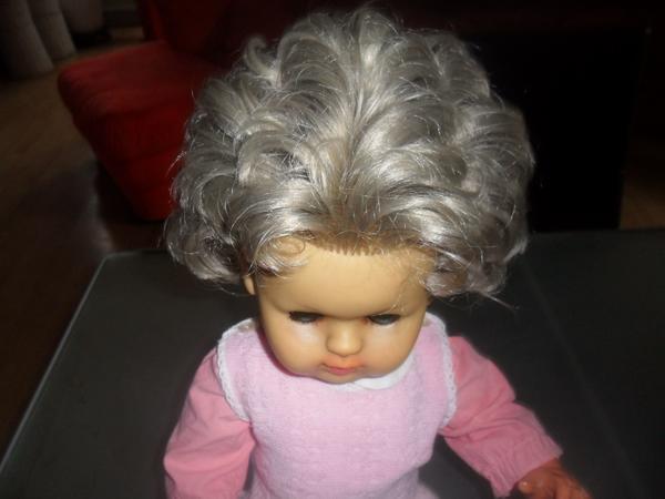 Zapf Puppe Zelloid